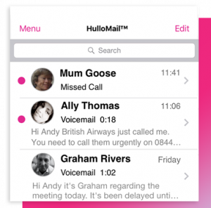 visual-voicemail-hullomail-message-list